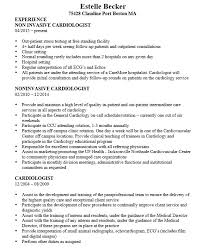 21 Free Cardiologist Doctor Resume Samples - Sample Resumes