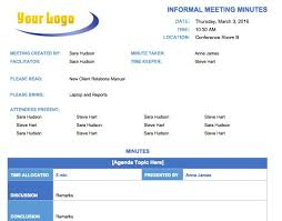 Minutes Template Microsoft Word Free Meeting Minutes Template For Microsoft 334125586954 Free