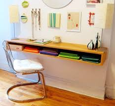 diy office projects. Space Saver: 22 Wall-Mounted Desks To Buy Or DIY Diy Office Projects