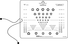 Picture Vision Chart Near Vision Eye Test Chart Patti Pics