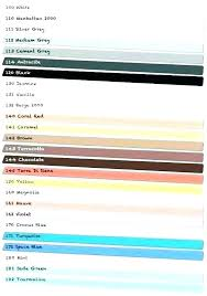 Siena Grout Colors Color Chart Lovely Omega Jessicainmotion