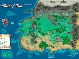 robert jordan wheel of time map  alternate history discussion