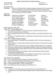 Aviation Resume Sample 4 | Handplane Goodness