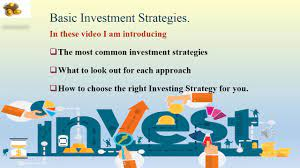 Investment Strategies for New Investors - YouTube