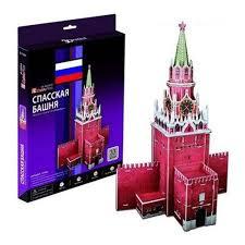 Пазл <b>CubicFun</b> C118h <b>Спасская башня</b> — купить в интернет ...