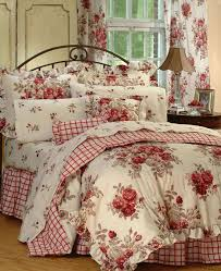 country french comforter sets red and white puff country cottage bedding sets 28 best antiqued bedroom