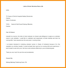Examples Of Letters Interest For A Template Ideas Example
