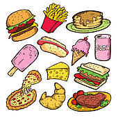 food clipart. Unique Food Doodle Food Icons Set Junk Doodle And Food Clipart E