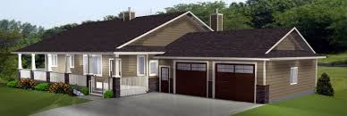 Ranch House Plans by Edesignsplans ca
