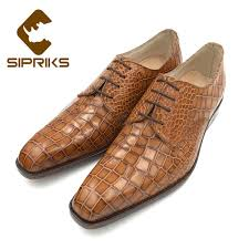 sipriks mens goodyear welted dress shoes genuine leather men formal wearing shoes square toe leather en jpg
