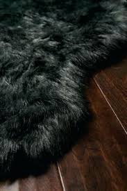 black faux sheepskin rug black faux sheepskin fur rug faux fur rug uk