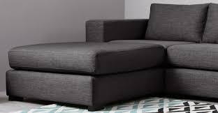 Modular Living Room Furniture Uk Mortimer 4 Seat Modular Corner Sofa Seal Grey Madecom