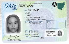 new ohio compliant drivers license