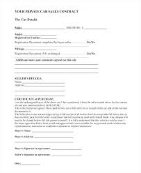 As Is Document For Car Sale Private Car Sale Agreement Template Document Printable South