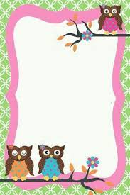 girly borders for microsoft word pin by dashira rivera on owls pinterest owl quilts baby owl and