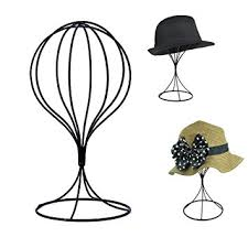 Wooden Hat Stands For Display Amazon Padshow Freestanding Wire Ball Hat Stand Hat Rack 87