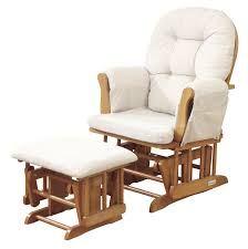 indulging image reclining glider together with ottoman set quality rocking chair with ottoman india