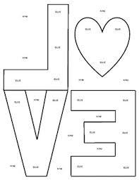 Valentines Day Letter Template Robert Indiana Valentines Day Love Letter Template By Mrsallainart