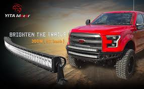 exterior led lighting car. yitamotor curved 52 inch led light bar exterior led lighting car