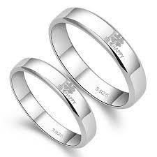 matching silver wedding bands. \ matching silver wedding bands