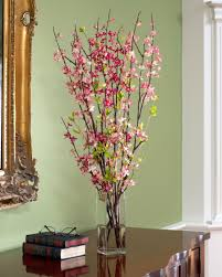 Silk Arrangements For Home Decor Spring Artificial Flower Flowers Ideas
