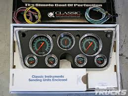 classic instruments gauge panels for 1967 1972 chevys and gmcs wiring aftermarket gauges at Dash Gauge Wiring