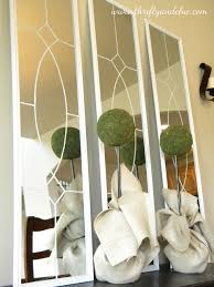 garden district mirrors. Simple District KnockOff Ballard Designs Garden District Mirrors  Tutorial Really Like  This Look From Just Simple Door Mirrors About 15 For All 3 Intended T