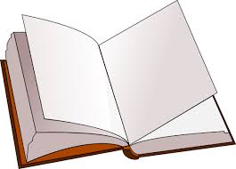 blank open book clip art open book with blank pages clip art at clker vector clip art