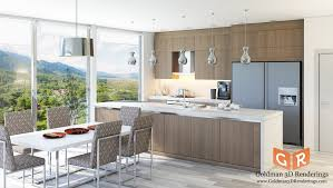 Kitchen Design 40D Architectural Renderings Goldman 40D Renderings Stunning Kitchen Design Architect