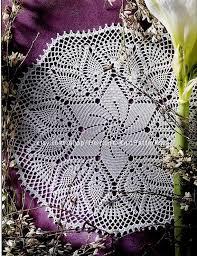 Doily Crochet Pdf Pattern Circular Doily Chart Diagram Doily Place Mat Table Center Crochet Pdf Pattern Instant Download Pdf 02