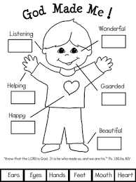 All About Me Coloring Pages At