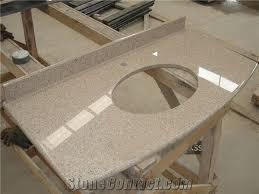 custom bathroom countertops. Perfect Countertops China Golden Pink Granite Bathroom Countertops G681 Custom  Vanity Tops In Countertops N