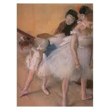 before the rehearsal by edgar degas art gallery oil painting reions
