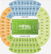 Commonwealth Stadium Seating Chart The Etihad Stadium Man City Fc Guide Football Tripper