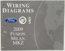 2009 ford fusion lincoln mkz mercury milan electrical wiring 2010 mercury milan wiring diagram at Mercury Milan Wiring Diagram