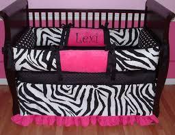 lovely baby nursery room with zebra print baby crib bedding inspiring baby nursery room decoration