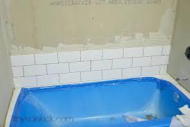 tile tub surround how to install tile around a new bathtub diy bathroom tile tub surround tile tub