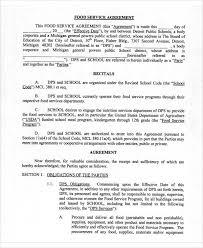Service Agreement Samples Sample Agreement Samples
