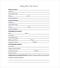 Videography Contract Template 8 Free Documents ~ Videography ...