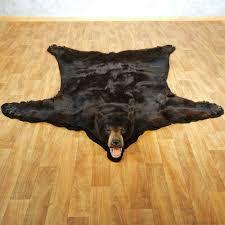 black bear full size taxidermy rug 13381 for the taxidermy