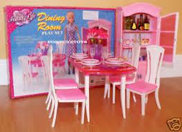 barbie furniture dollhouse. Image Is Loading GLORIA-FURNITURE-DOLLHOUSE-CLASSIC-DINING-ROOM-W-DINING- Barbie Furniture Dollhouse B