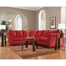 living room set ashley furniture. darcy - salsa sectional living room set ashley furniture