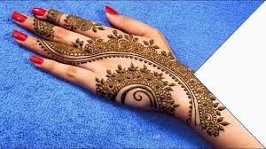 Mehndi Design Front Arabic Mehndi Design Latest Images 2018 Easy Mehndi Designs