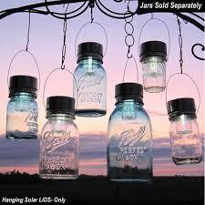 garden solar jar lights 6 hanging mason jar solar by treasureagain ball mason jar solar lights