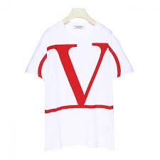 Valentino Shirt Size Chart Valentino Logo Printed T Shirt
