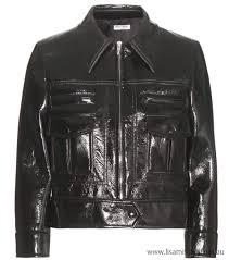 black women s cropped faux leather jacket australia