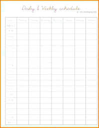 hourly agenda hourly planner template weekly schedule planner template