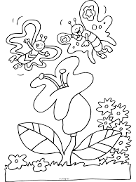Kleurplaat Bedankt Bijen Bloemen Kleurplaten Kleurplatenpagina Nl