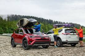 People Using Their 2018 Toyota Rav4 For Camping And Outdoor Activity With Cargo  Space Volume