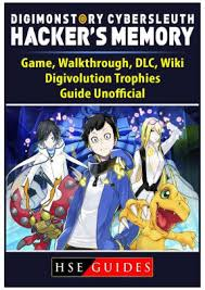 Digimon Dawn Digivolution Chart Digimon Story Cyber Sleuth Hackers Memory Game Walkthrough Dlc Wiki Digivolution Trophies Guide Unofficial Paperback